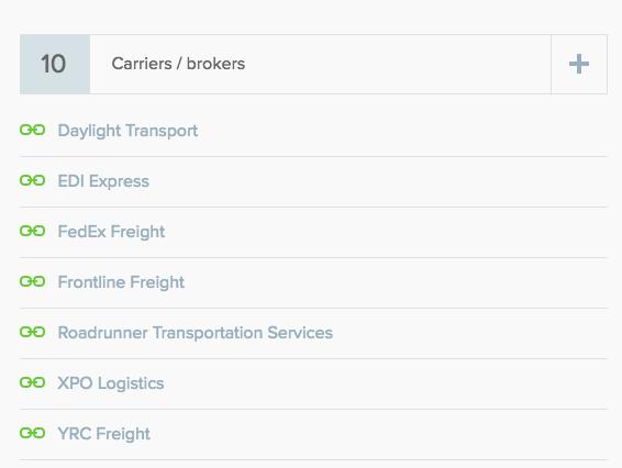 carrier list